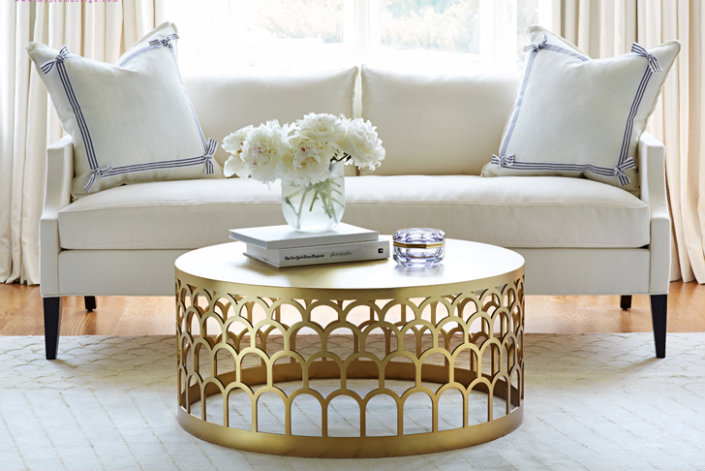 round coffee table living room 5 coffee tables for a beautiful and chic living room 23657