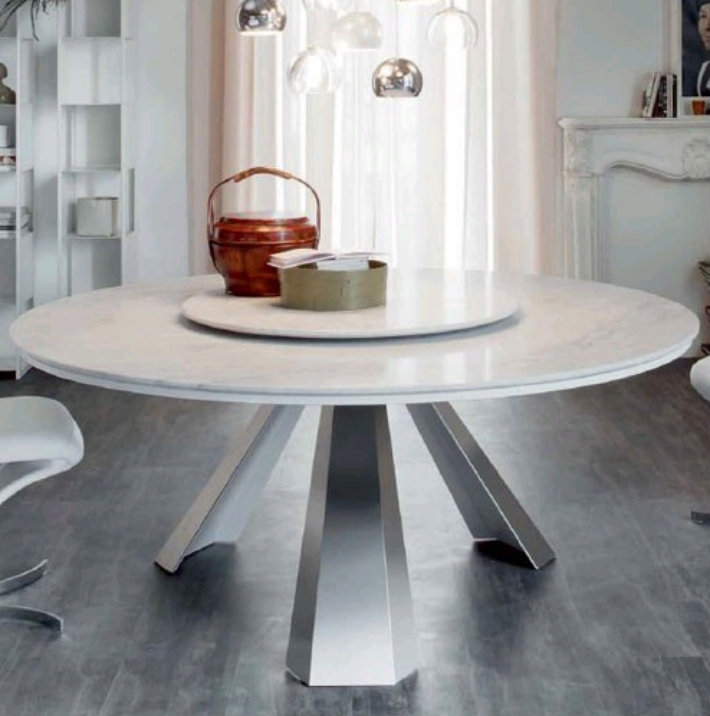 Top 5 gorgeous white marble round dining table