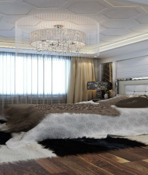How to decorate your bedroom with Crystal Chandeliers 8 - Cópia