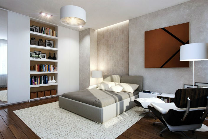 Small Bedrooms Use Space in a Big Way home inspiration ideas