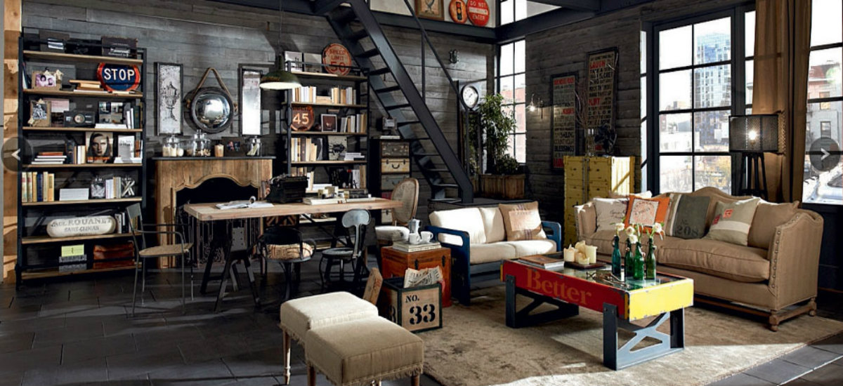 Transform Your Interiors With Industrial Style