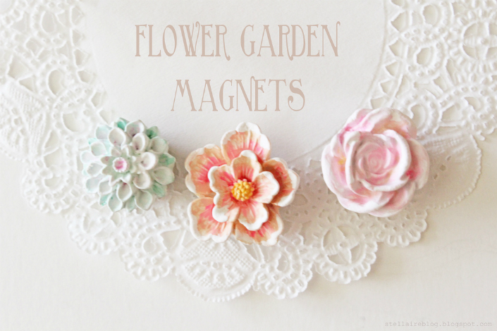 Garden magnets- a detail which will help you to create the garden on your fridge or any other metal surface. home inspiration ideas