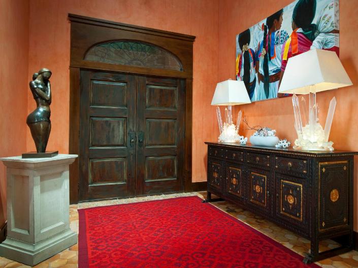 Mid Century Entrance Doors An Inspiring Home Decor Detail