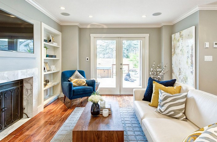 b LIVING ROOM DECOR IDEAS Top 50 Blue Velvet Armchairs (12) home inspiration ideas