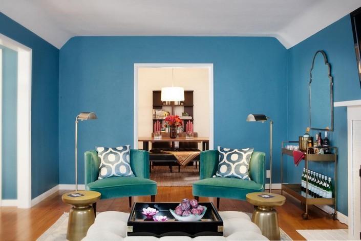 b LIVING ROOM DECOR IDEAS Top 50 Blue Velvet Armchairs (2) home inspiration ideas