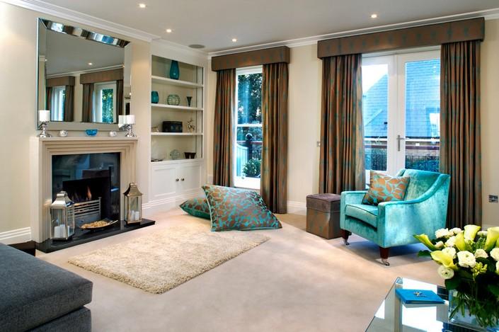 b LIVING ROOM DECOR IDEAS Top 50 Blue Velvet Armchairs (4) home inspiration ideas