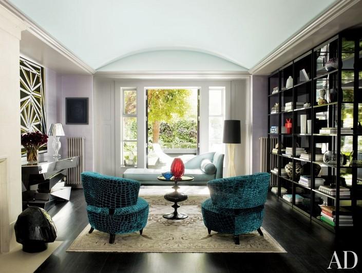 b LIVING ROOM DECOR IDEAS Top 50 Blue Velvet Armchairs (7) home inspiration ideas