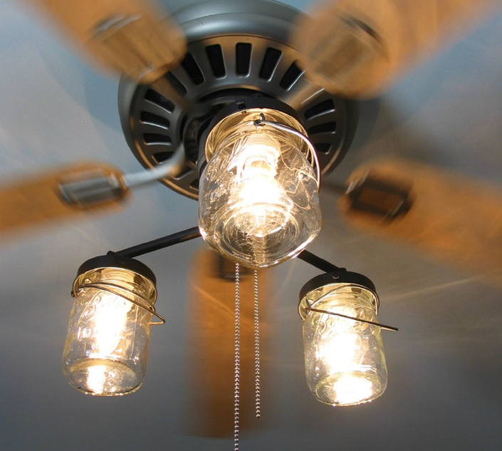 Original lamp- fan - one shot, two bunnies. home inspiration ideas