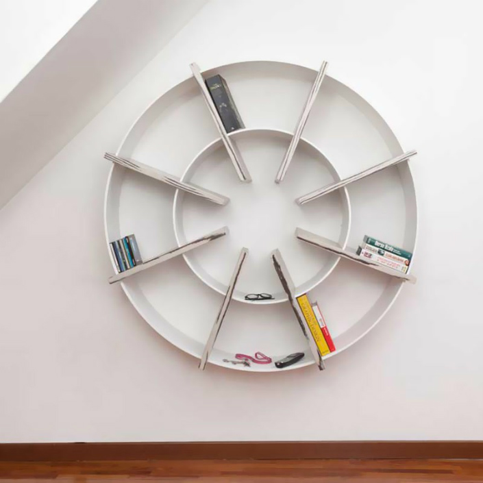 Who said that bookcase should be square? home inspiration ideas