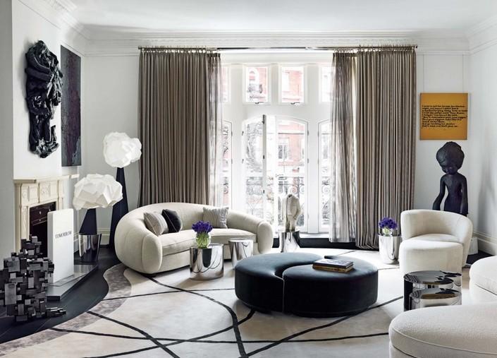 w LIVING ROOM DECOR IDEAS Top 50 White Velvet Armchairs (25) home inspiration ideas
