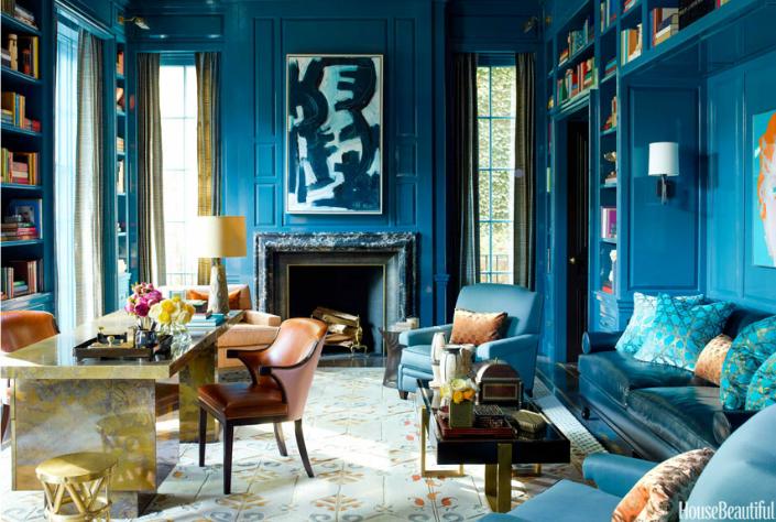 Meet Perfect Blue-Green Interiors Designs home inspiration ideas