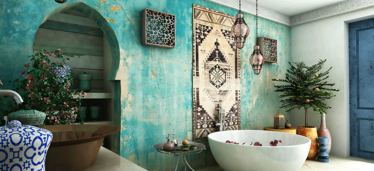 Exotic Tiles For A Beautiful Bathroom