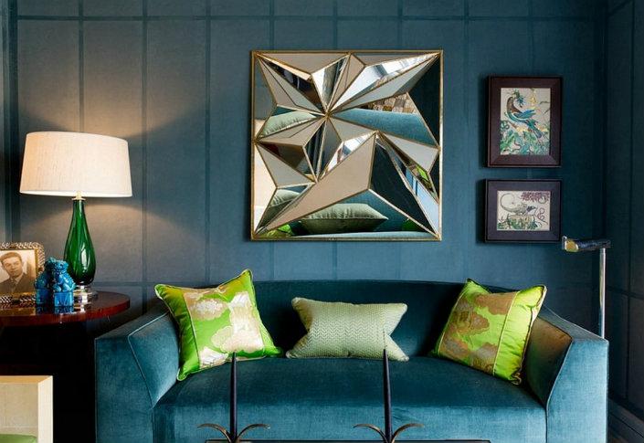 Meet Perfect Blue-Green Interior Designs home inspiration ideas