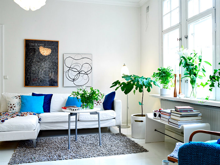 Attractive USE HOUSE PLANTS TO REFRESH YOUR INTERIORS Home Inspiration Ideas ... Photo Gallery