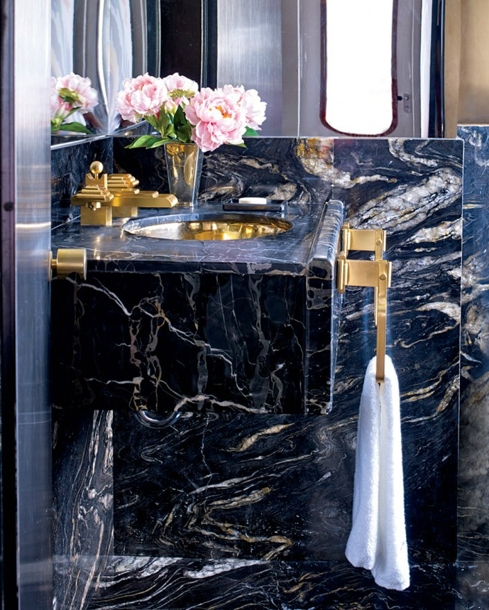 Natural Stone In Bathroom Design – From Rustic To Modern – Part II – MODERN