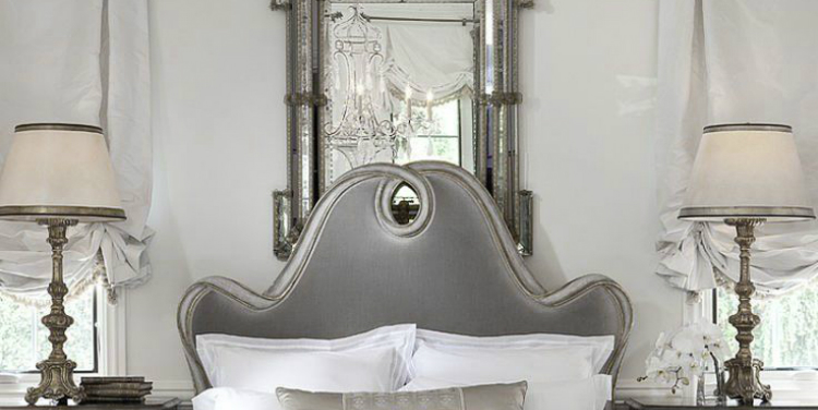 pastel elegance a romantic french bedroom - French Bedroom