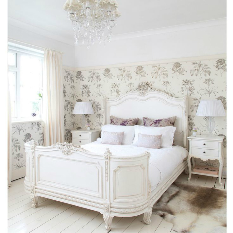 Pastel Elegance A French Bedroom