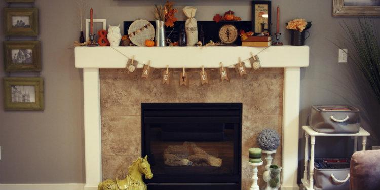 Fresh Fireplace Hearth Decorating Ideas