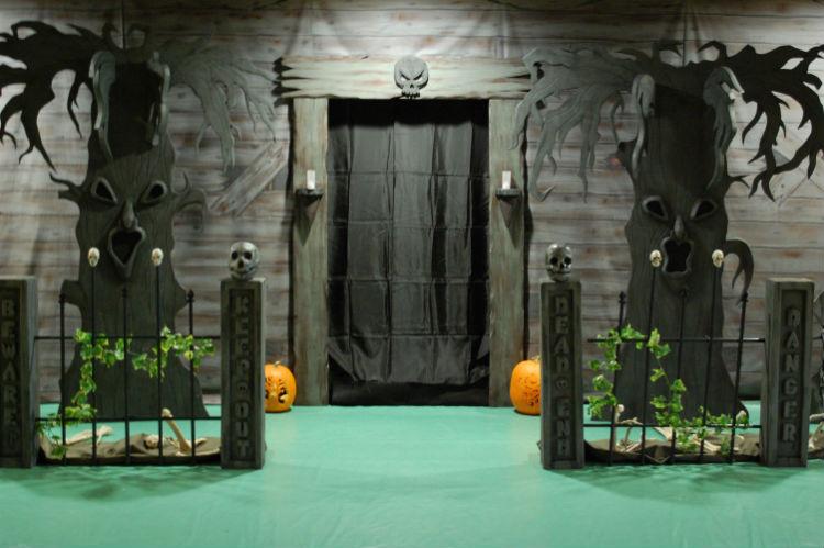 Halloween decoration ideas Halloween Door Decorations Halloween decor (2) home inspiration ideas