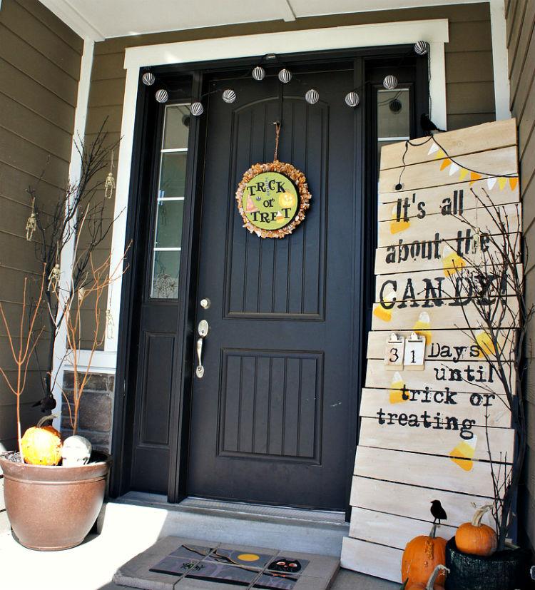Halloween Decoration Ideas Halloween Door Decorations Halloween Decor (4)  Home Inspiration Ideas