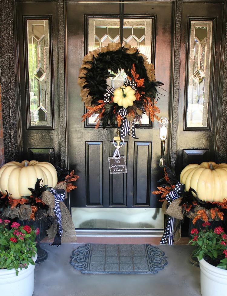 Halloween decoration ideas Halloween Door Decorations Halloween decor (7) home inspiration ideas