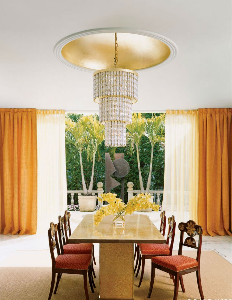 Gold-leaf Accents For An Autumn Decor home inspiration ideas