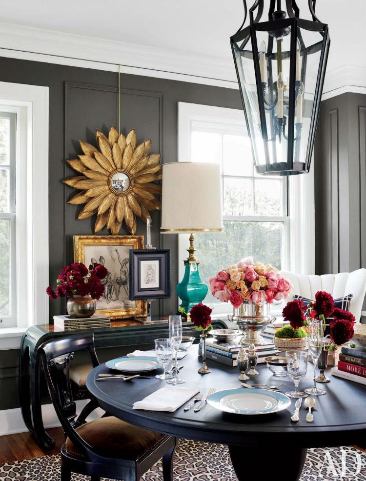Golden mirror home inspiration ideas