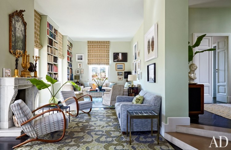 Patterned furnishings home inspiration ideas