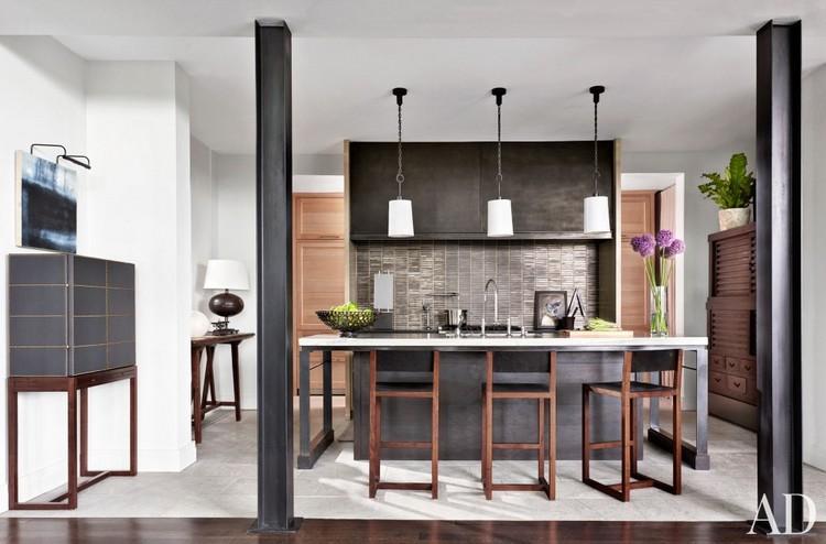 Black tones kitchen home inspiration ideas
