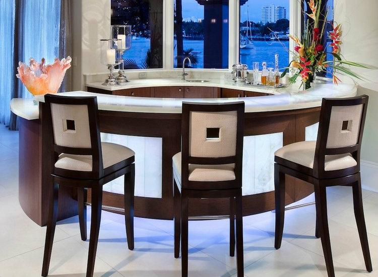Round kitchen counter home inspiration ideas