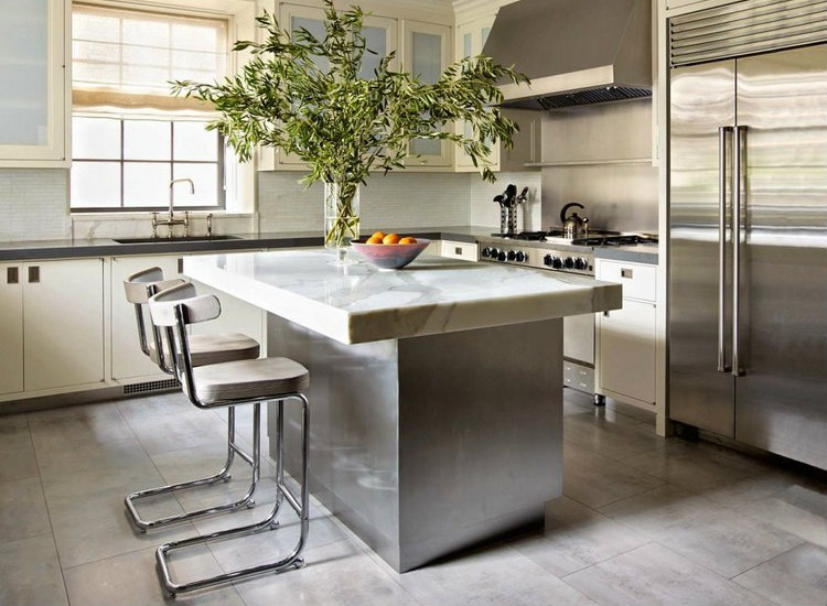 Industrial kitchen home inspiration ideas  Top 20 Modern Counter Stools Top 50 Modern Counter Stools 3