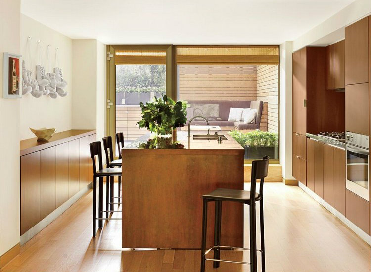 Island in a kitchen home inspiration ideas