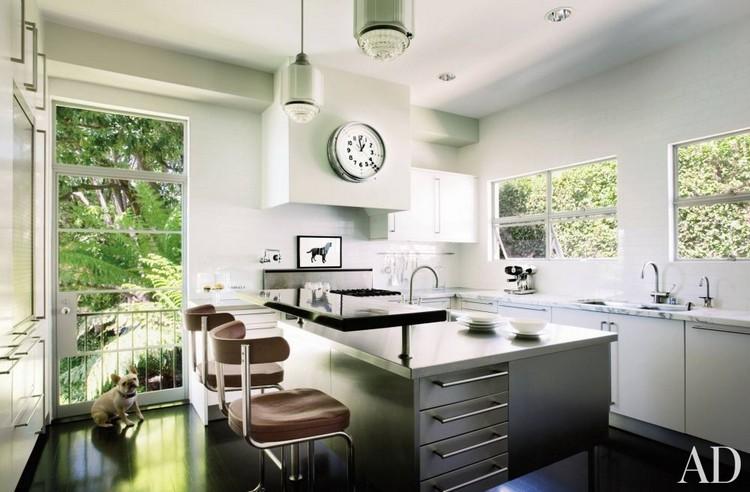 Dog in kitchen home inspiration ideas