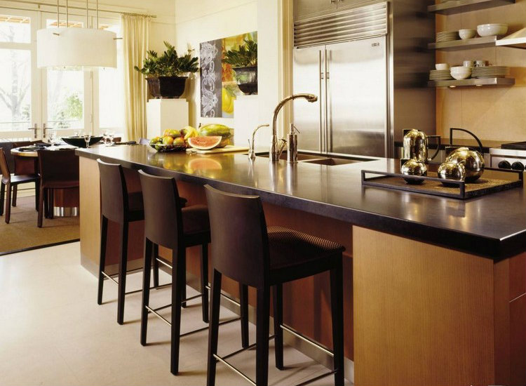 Brown tones in kitchen home inspiration ideas