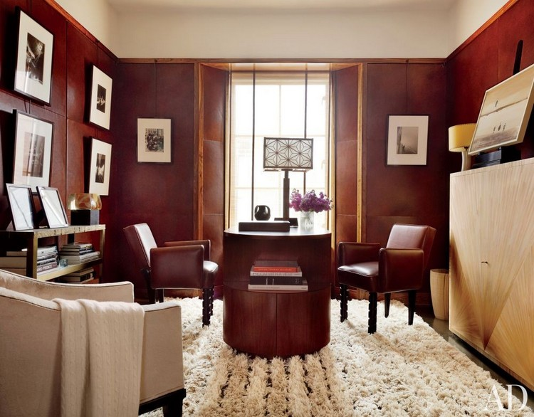 7 Easy Ideas To Make Your Mid Century Modern Home Office Organized (2) home inspiration ideas