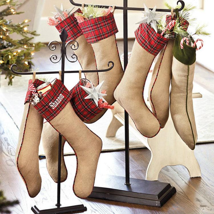 Christmas Stockings (4) home inspiration ideas