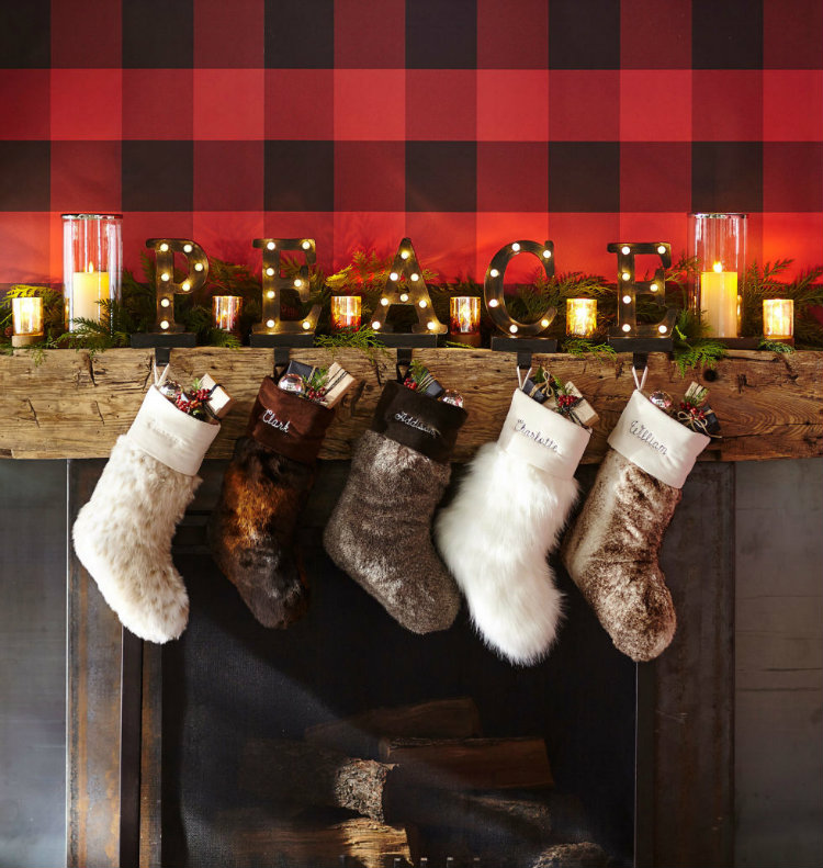 Christmas Stockings (7) home inspiration ideas
