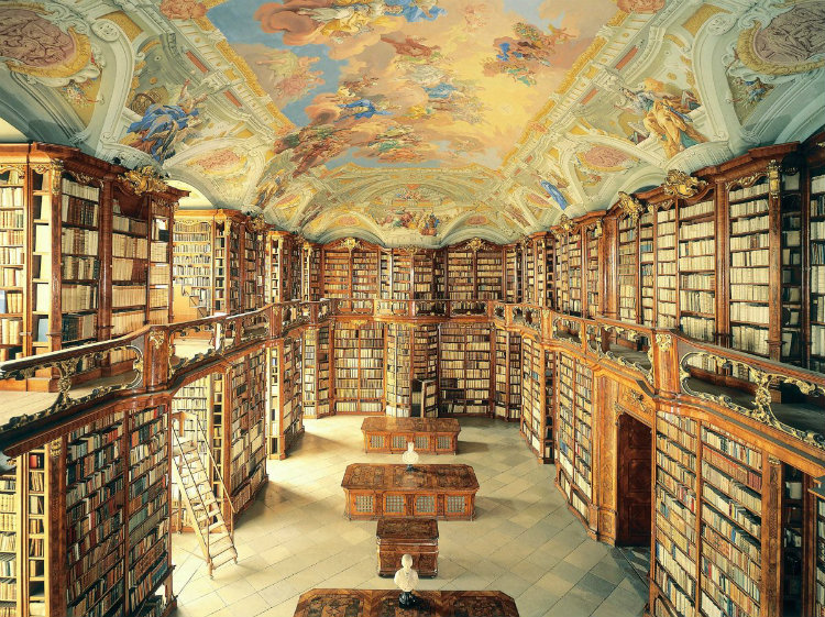 The Most Beautiful Libraries Of All Time - Admont Abbey, Austria home inspiration ideas