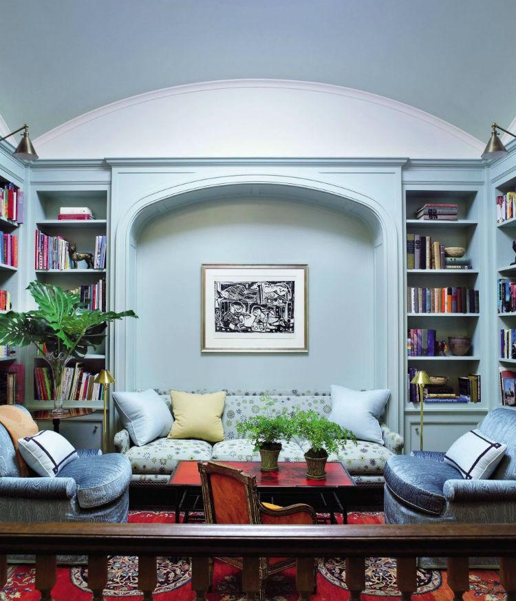 Blue color scheme home inspiration ideas