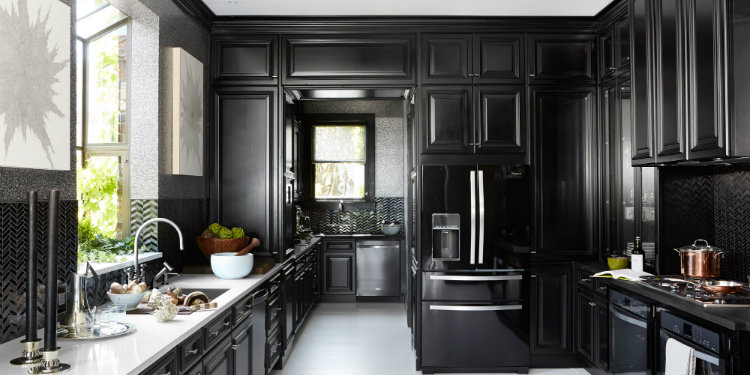 14 Ultimate Black Kitchen Color Ideas For 2016