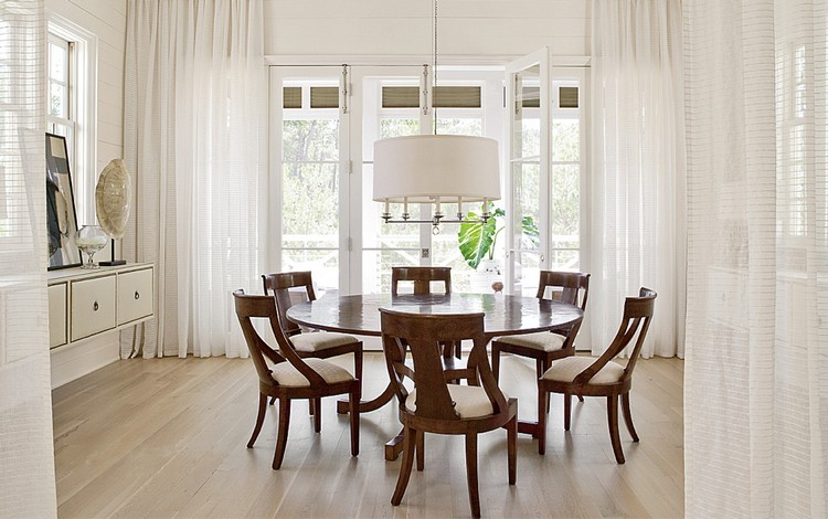 Round wood dining table for 6 home inspiration ideas