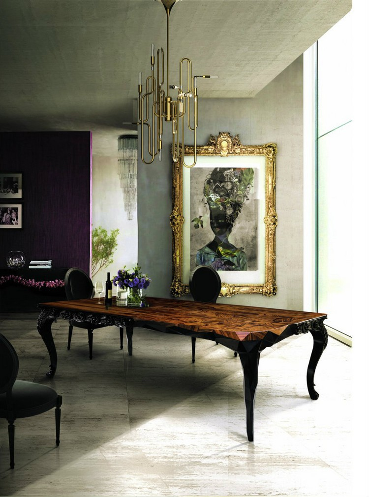20 dining room inspirations to share with your friends for Dining room table inspiration
