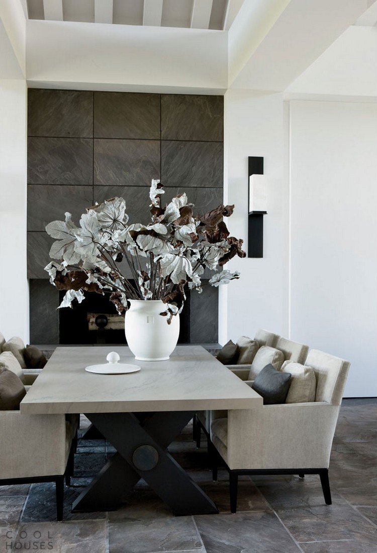 Dining room color paints monochromatic palette home inspiration ideas