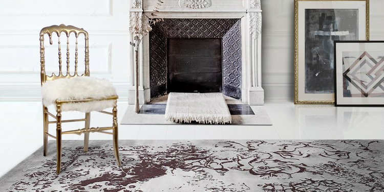 Living space tips 8 large area rugs ideas that are a show-stop posidon-rug by Boca do Lobo home inspiration ideas