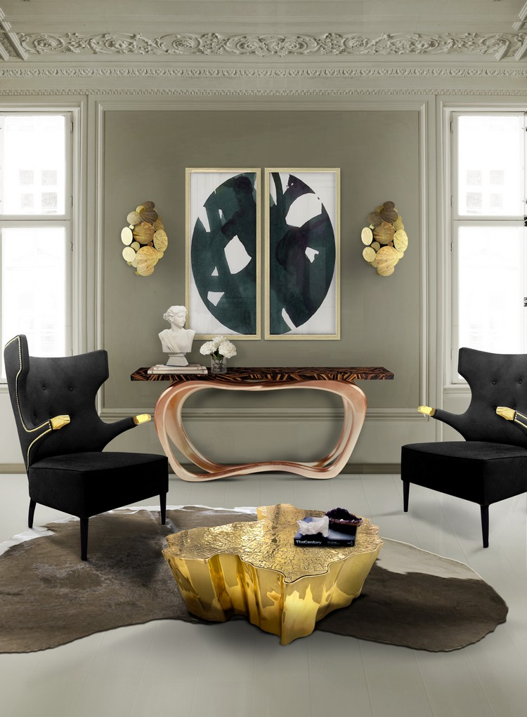 living room decorating ideas modern console tables to 78723