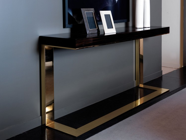 15 Contemporary Console Tables In Celebrities Living Room Sets