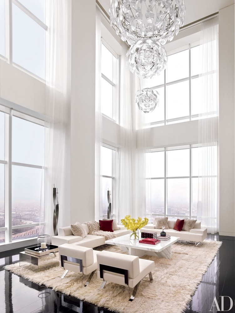 manhattan duplex designed by oda architecture home inspiration ideas - Designed Living Room