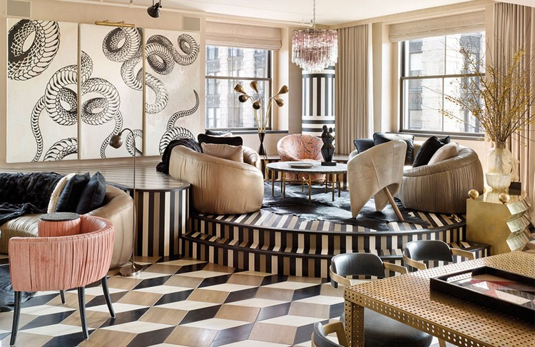 Best Living Room Color Schemes By Kelly Wearstler Home Inspiration Ideas