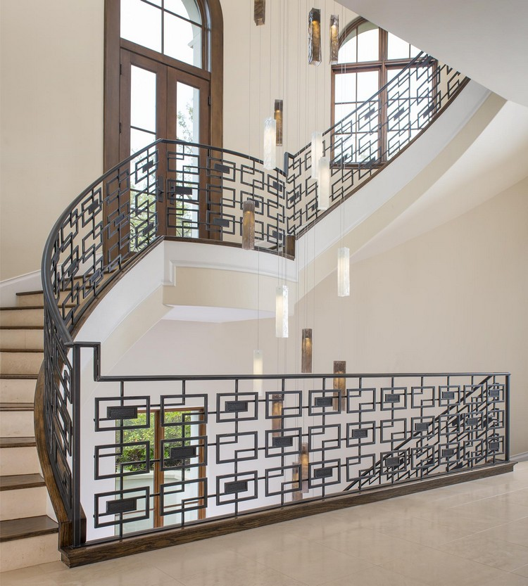 Staircases ideas with pendant lamps home inspiration ideas