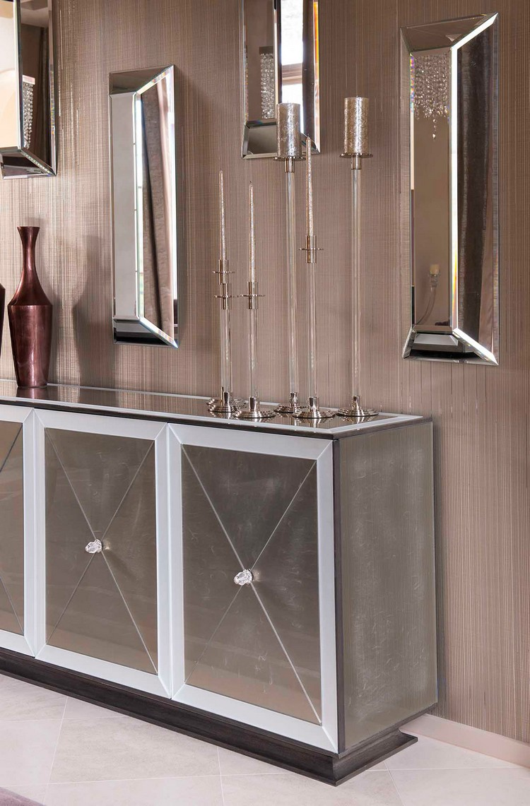Home decorating ideas – luxury residence by Dallas Design Group Dining Room Console home inspiration ideas